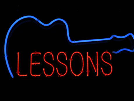 Electric guitar lessons (30 min)