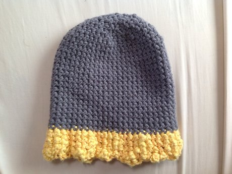 Crocheted Hat - Size Small