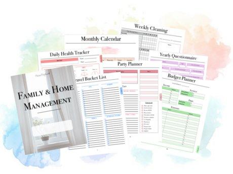 20+ page Printable Home Planner