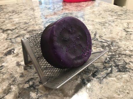 Deep Purple Loofah Soap