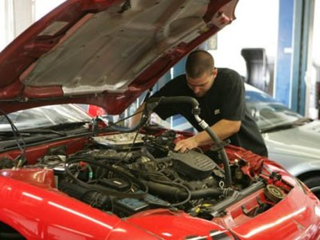 Vehicle troubleshoot/repair