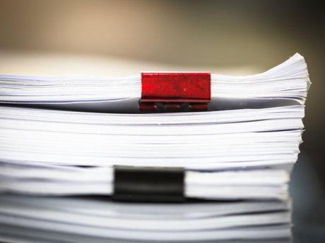 Navigating paperwork