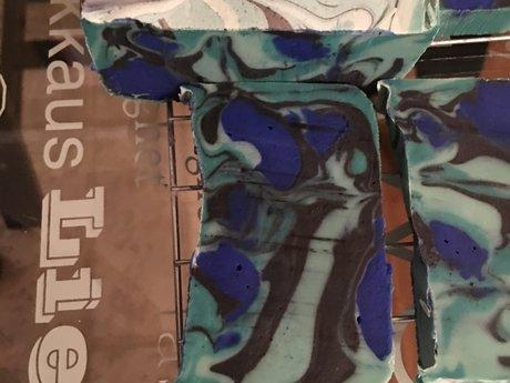 Multicolored Swirl Soap