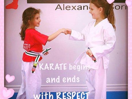 Karate class kids 4-14 years old