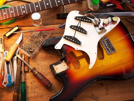Guitar Setups & Repairs