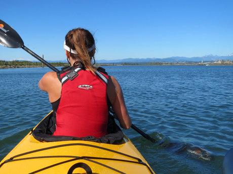 Tandem Kayak Trip to Jetty Island