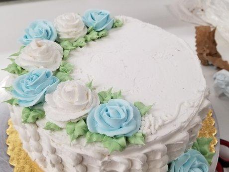 Scratch Cake from a Decorator