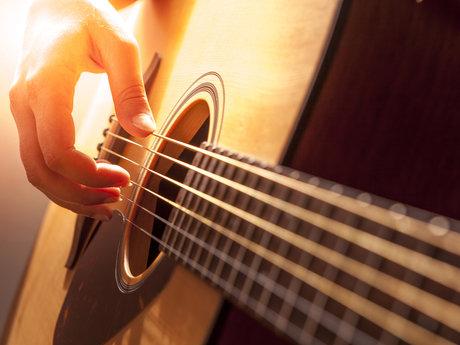 Beginner guitar lesson - 1 hour