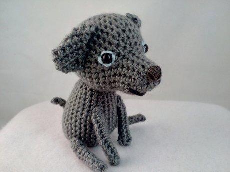 Weimaraner Dog Plushie