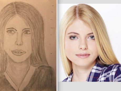 Pencil Drawn Mediocre Portraits