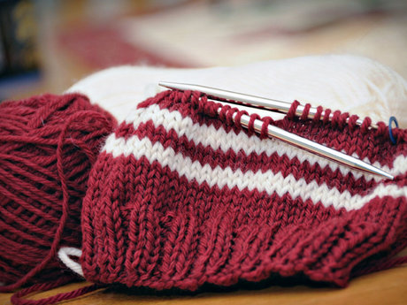 Knitting hats/scarves