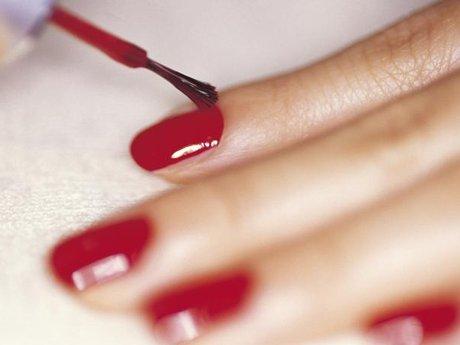 Full lacquer manicure/pedicure serv
