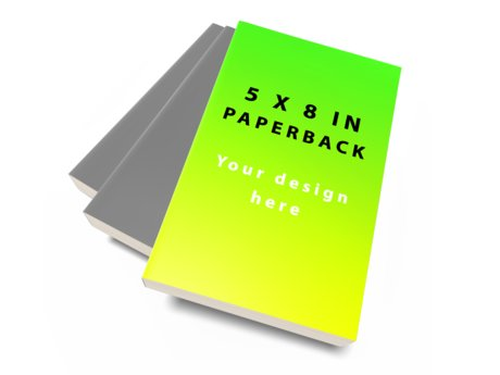 Your Book Design on a Book