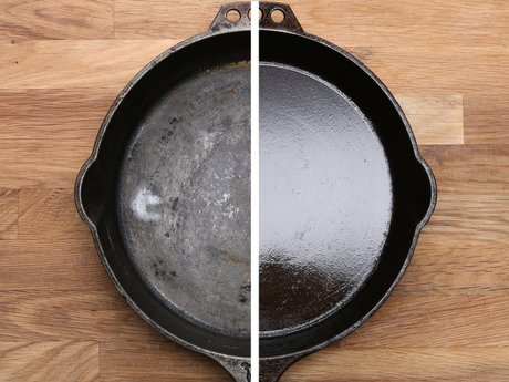 Restore your cast iron cookware