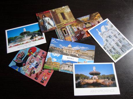 I'll send you a postcard