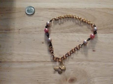 Antique Style Butterfly Bracelet