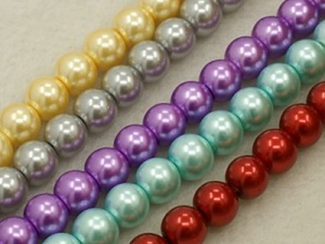 High Quality Glass Pearl Beads