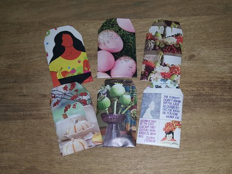 Upcycled Seed Packets