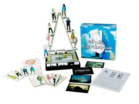 """""""Up the corporation"""" board game"""