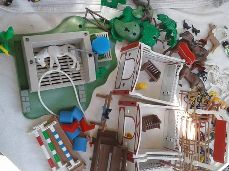 Huge Lot of Playmobil