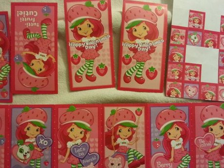 STRAWBERRY SHORTCAKE VALENTINES