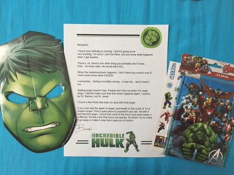 Surprise Mail from Hulk/Bruce