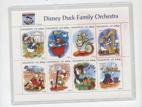 Disney Duck Orchestra Stamp