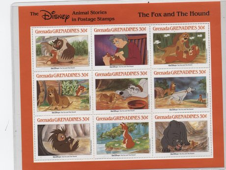 Collector Stamp -Fox and Hound