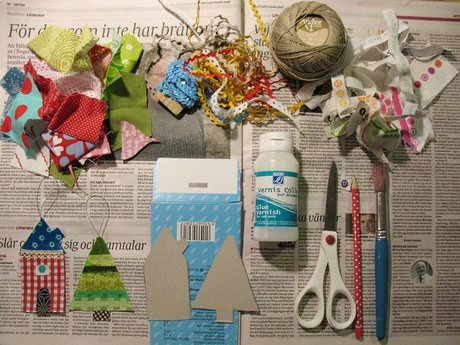 Childs creative crafting
