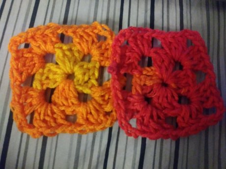 2 Mini Washcloths