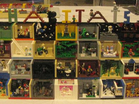Build a LEGO Habitat