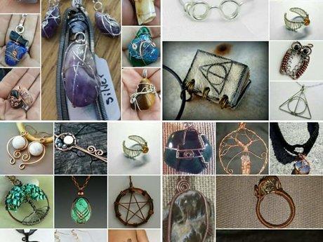 Basic wire-wrapped jewelry tutorial