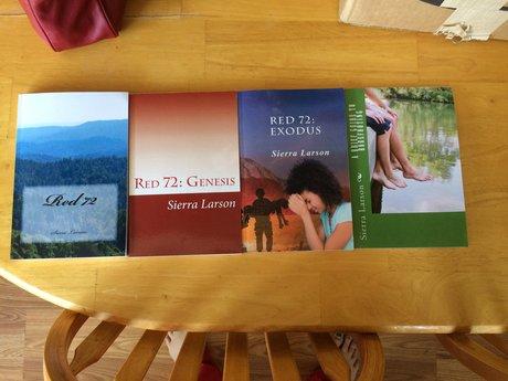 Proof copies of my books