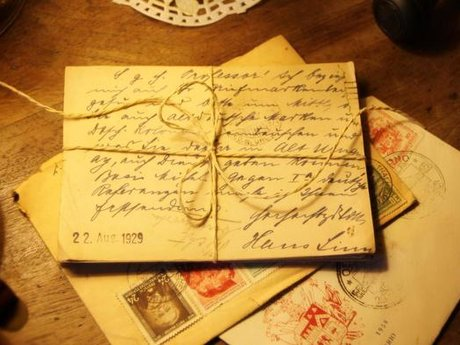 Handwritten Letters with Wax Seals