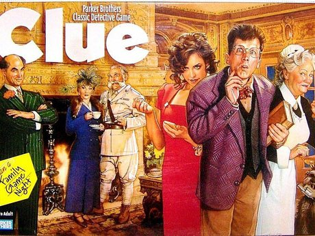 Rent my Clue Board Game