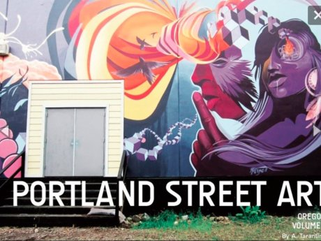 Portland OR Street Art Book PDF!