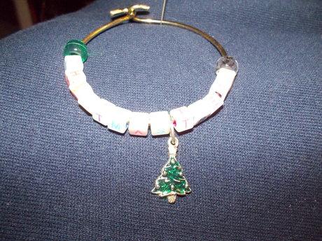 Xmas tree bracelet