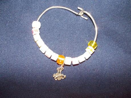 Xmas candle bracelet