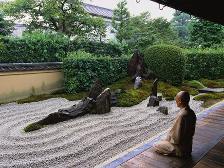 Advice through zen meditation