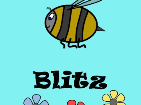 Bees? Blitz - A Printable Dice Game