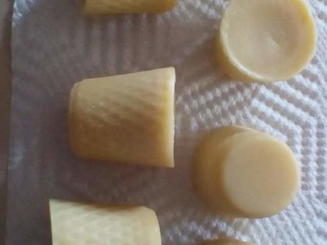 Homemade Hard Lotion Bars