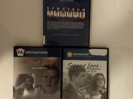 3 DVDs on Autism