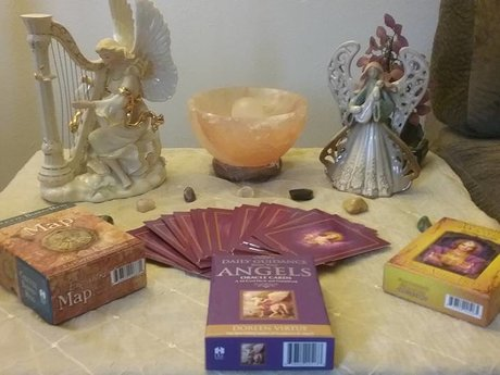 Oracle Card Reading with document