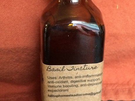 Basil Tincture (Athritis/Anti-Infl)