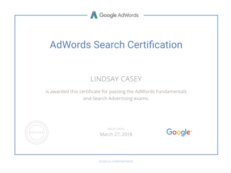 Google AdWords Account Audit
