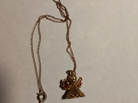 Delicate Angel necklace