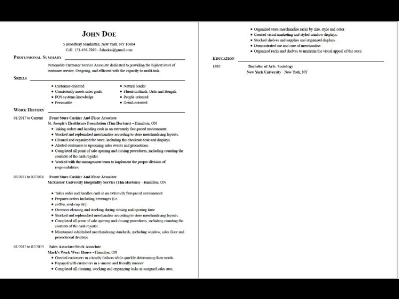 Is It Ok To Use I In A Resume. best social services specialist i ...
