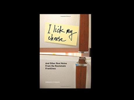 I Lick My Cheese--Humor book