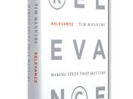 Relevance-- Tim Manners Hard Copy
