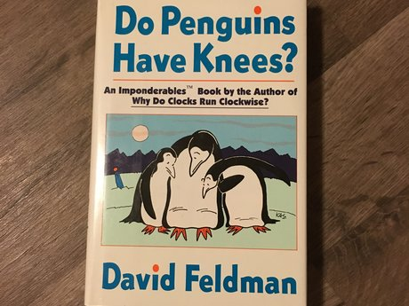 Do Penguins Have Knees? Hard Cover
